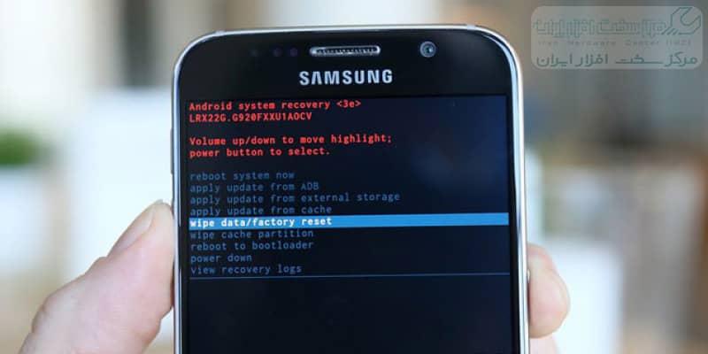 ریست فکتوری گوشی موبایل سامسونگ