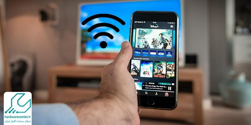 اتصال موبایل سامسونگ به تلویزیون
