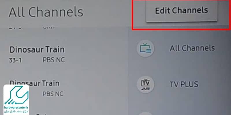مرتب کردن کانال های تلویزیون سامسونگ
