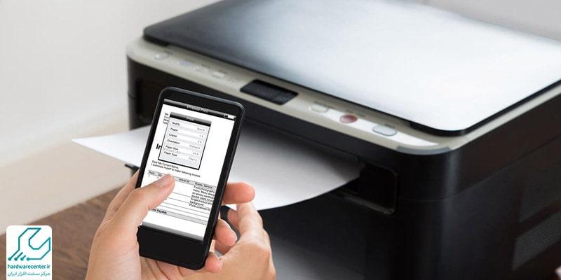 وصل کردن گوشی موبایل به چاپگر سامسونگ در IOS-min